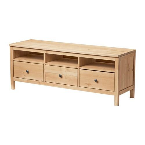 HEMNES TVBank  hellbraun  IKEA