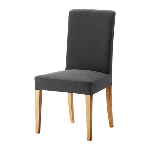 HENRIKSDAL Stuhl  Dansbo dunkelgrau  IKEA