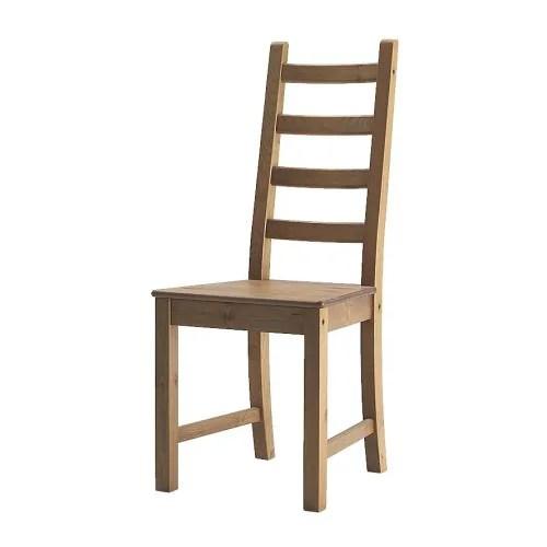 KAUSTBY Stuhl  Massive Kiefer ist ein Naturmaterial, das in Würde altert.