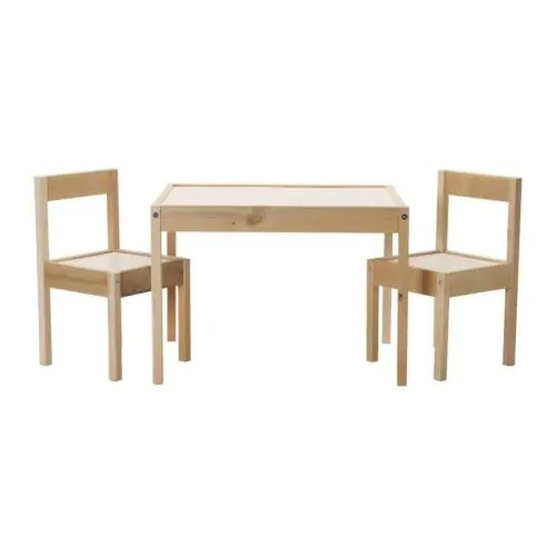 LÄTT Kindertisch mit 2 Stühlen - IKEA
