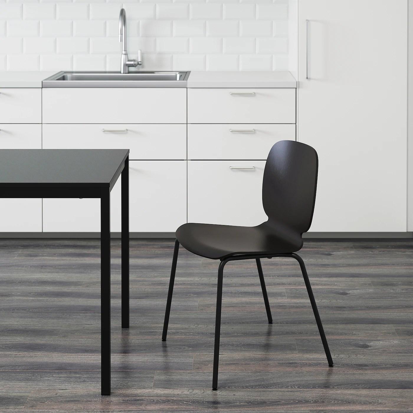 SVENBERTIL Stuhl   schwarz, Broringe schwarz   IKEA ...