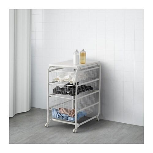 ALGOT Steltrdkurvetophyldehjul  IKEA
