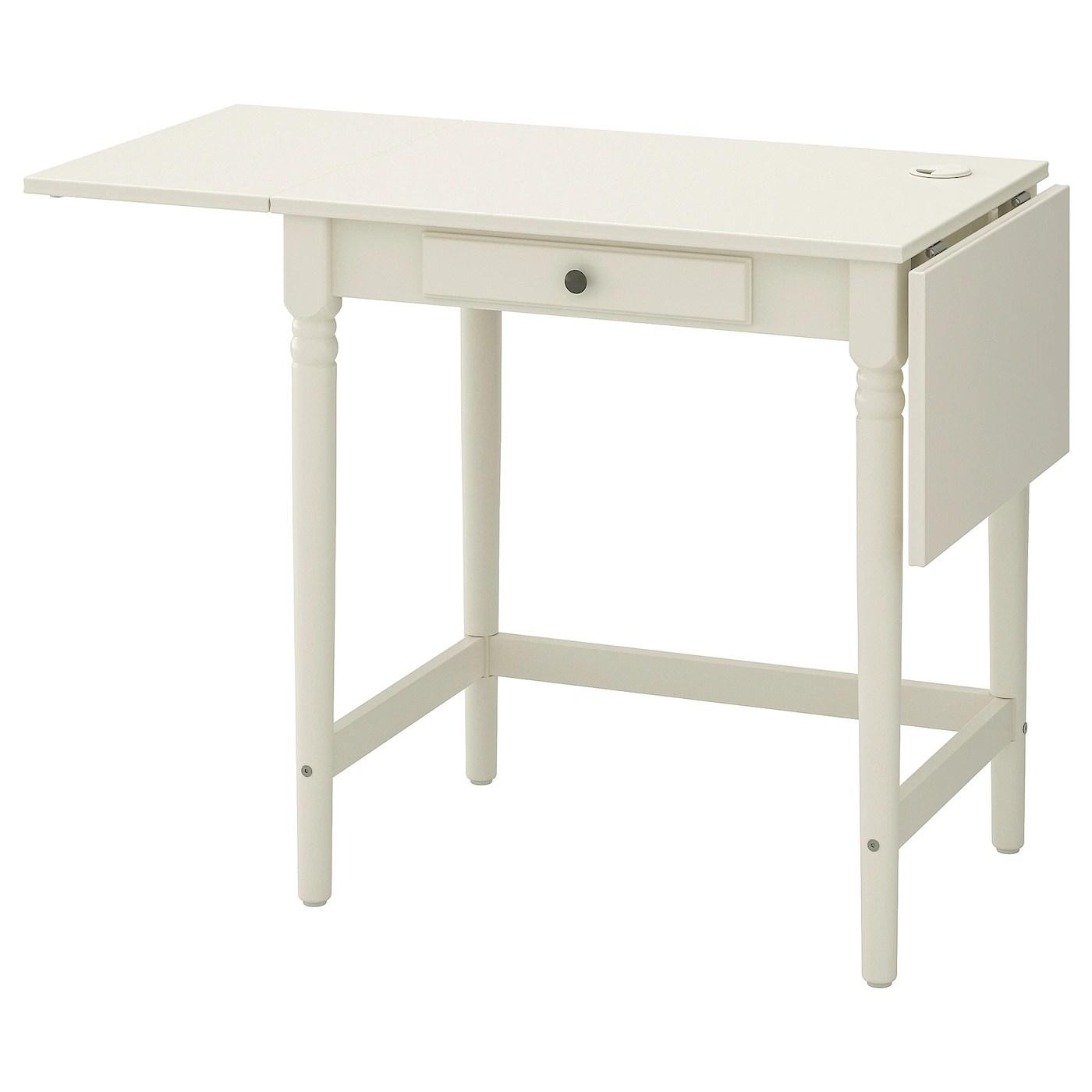 Ingatorp Skrivebord Hvid 73x50 Cm Ikea