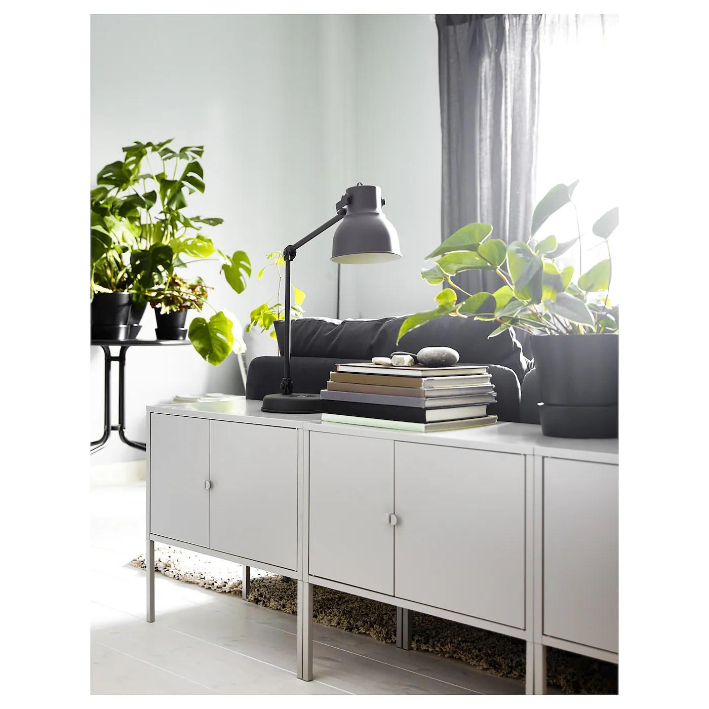 Lixhult Skab Metal Gra 60x35 Cm Ikea