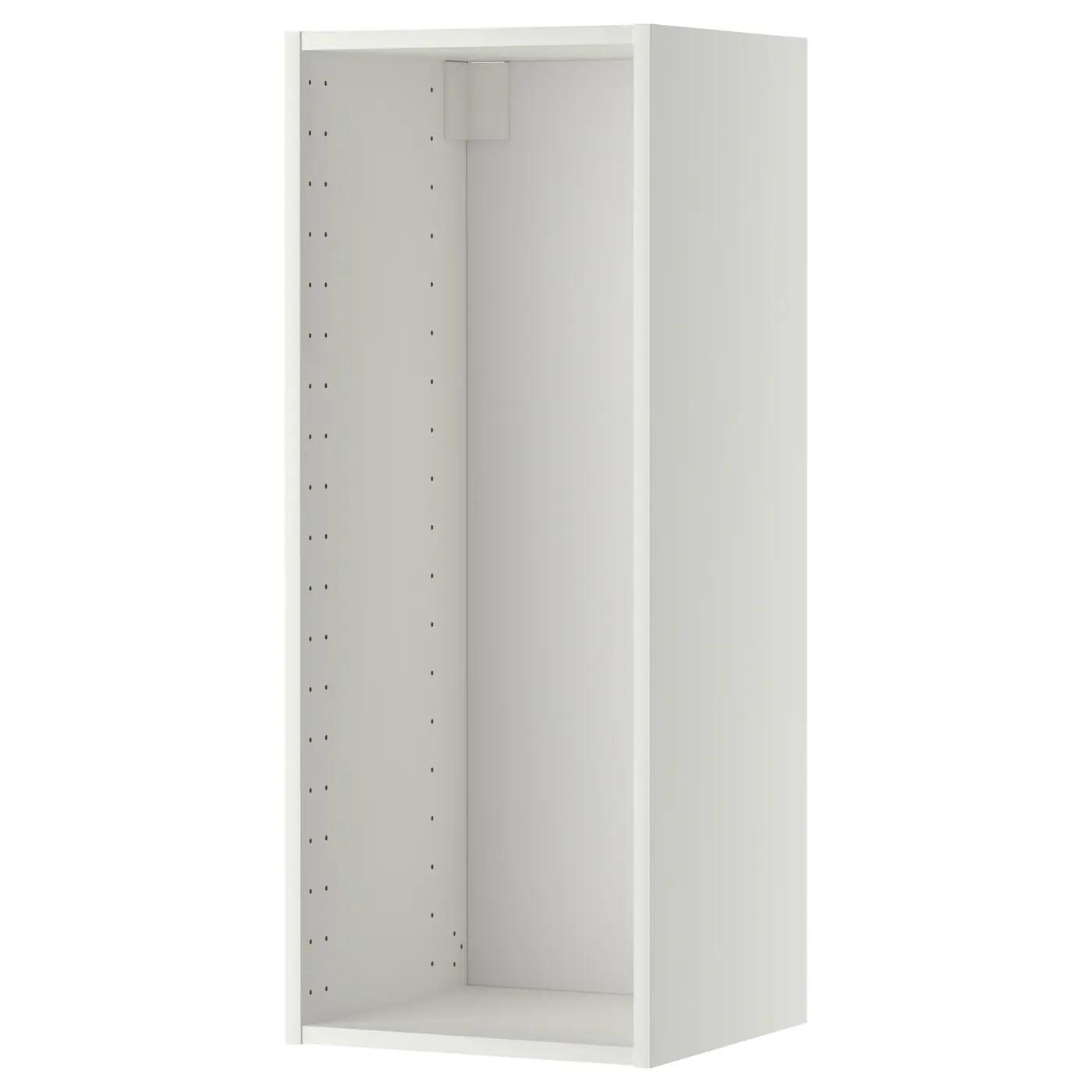 Metod Vaegskabsstel Hvid 40x37x100 Cm Ikea