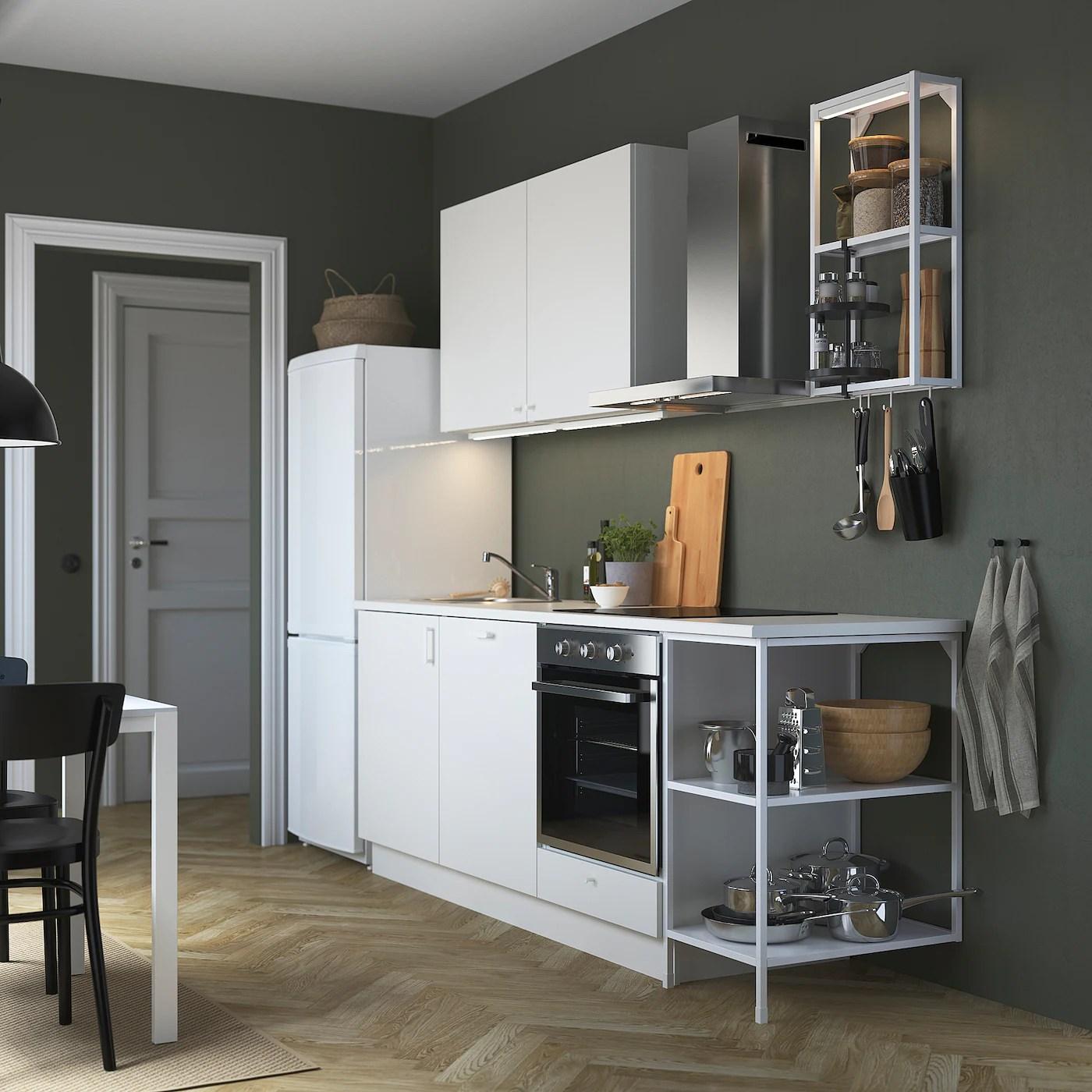 4 mensole lack da 190cm. Enhet Kitchen White Ikea
