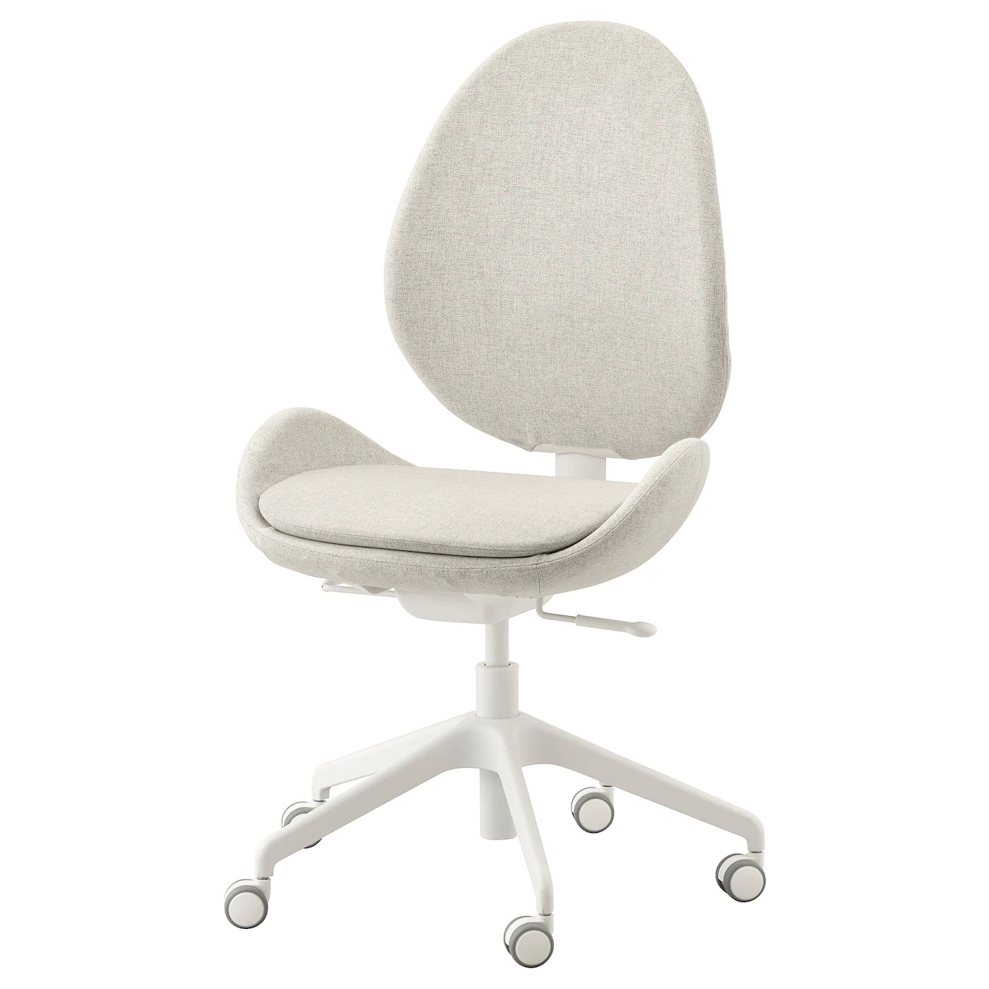 Hattefjall Office Chair Gunnared Beige Ikea