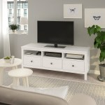 Hemnes Tv Bench White Stain Ikea
