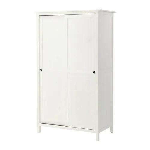 HEMNES Armario2 puertas correderas  tinte blanco  IKEA