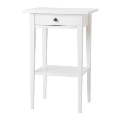 HEMNES Mesilla de noche  blanco  IKEA