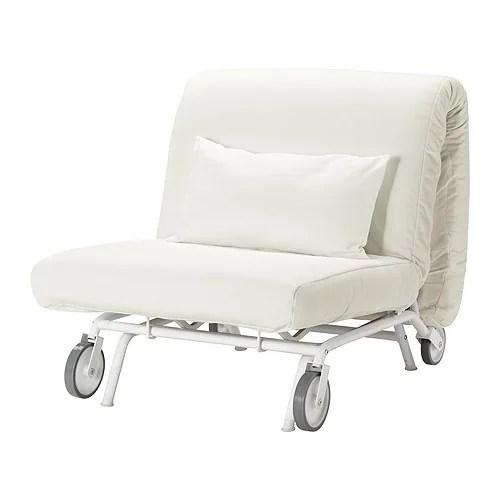 convertible chair bed ikea high folding lawn chairs ps hÅvet sillón cama - gräsbo blanco