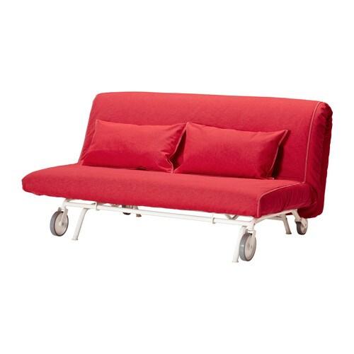 IKEA PS HVET Sof cama 2 plazas  Vansta rojo  IKEA