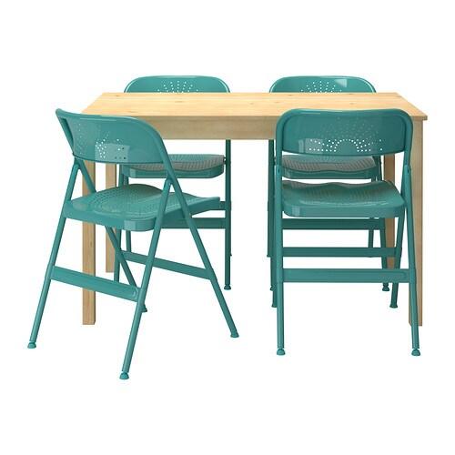 INGO  FRODE Mesa con 4 sillas  IKEA