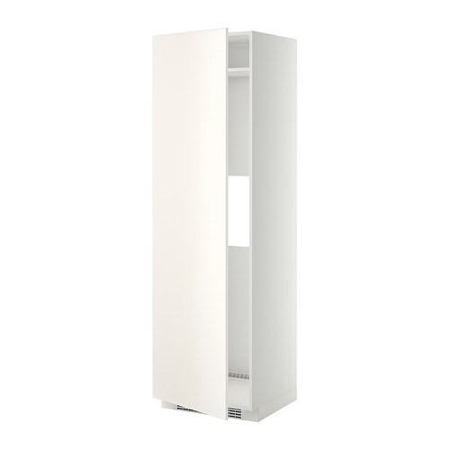 METOD Arm alto frigocong pt  blanco Veddinge blanco  IKEA