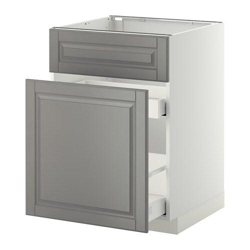 METOD / MAXIMERA Allas-/jäteastiakaappi + 1ovi/2laat IKEA Vaimentimien ansiosta ovet/laatikot sulkeutuvat hitaasti, hiljaa ja pehmeästi.
