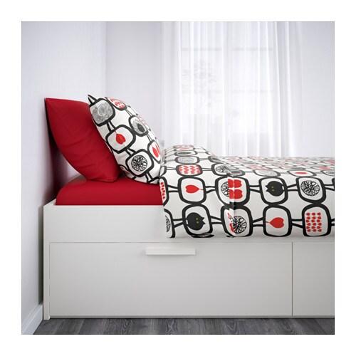 BRIMNES Cadre Lit Avec Rangement 140x200 Cm IKEA