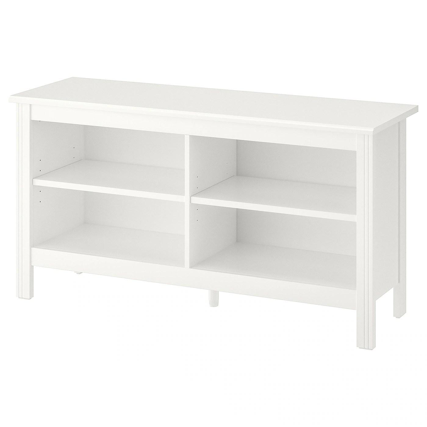 brusali banc tv blanc 120x36x62 cm
