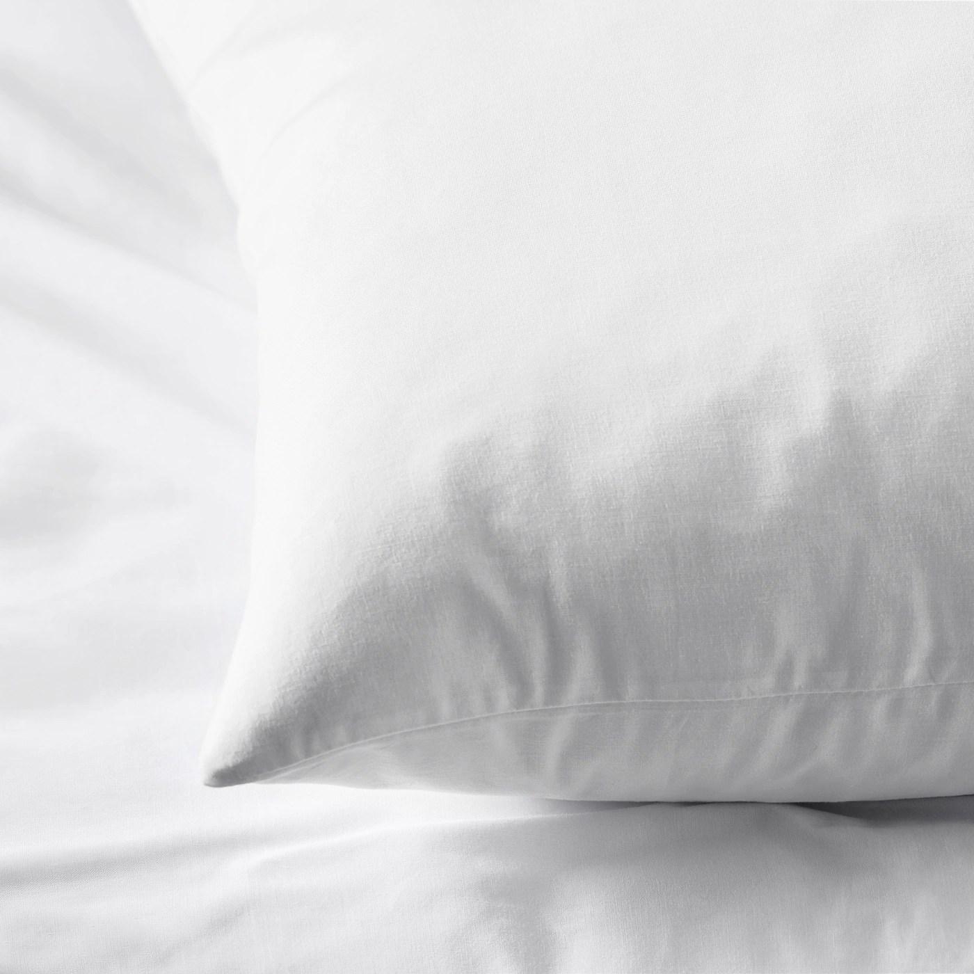 dvala taie d oreiller blanc 50x70 cm