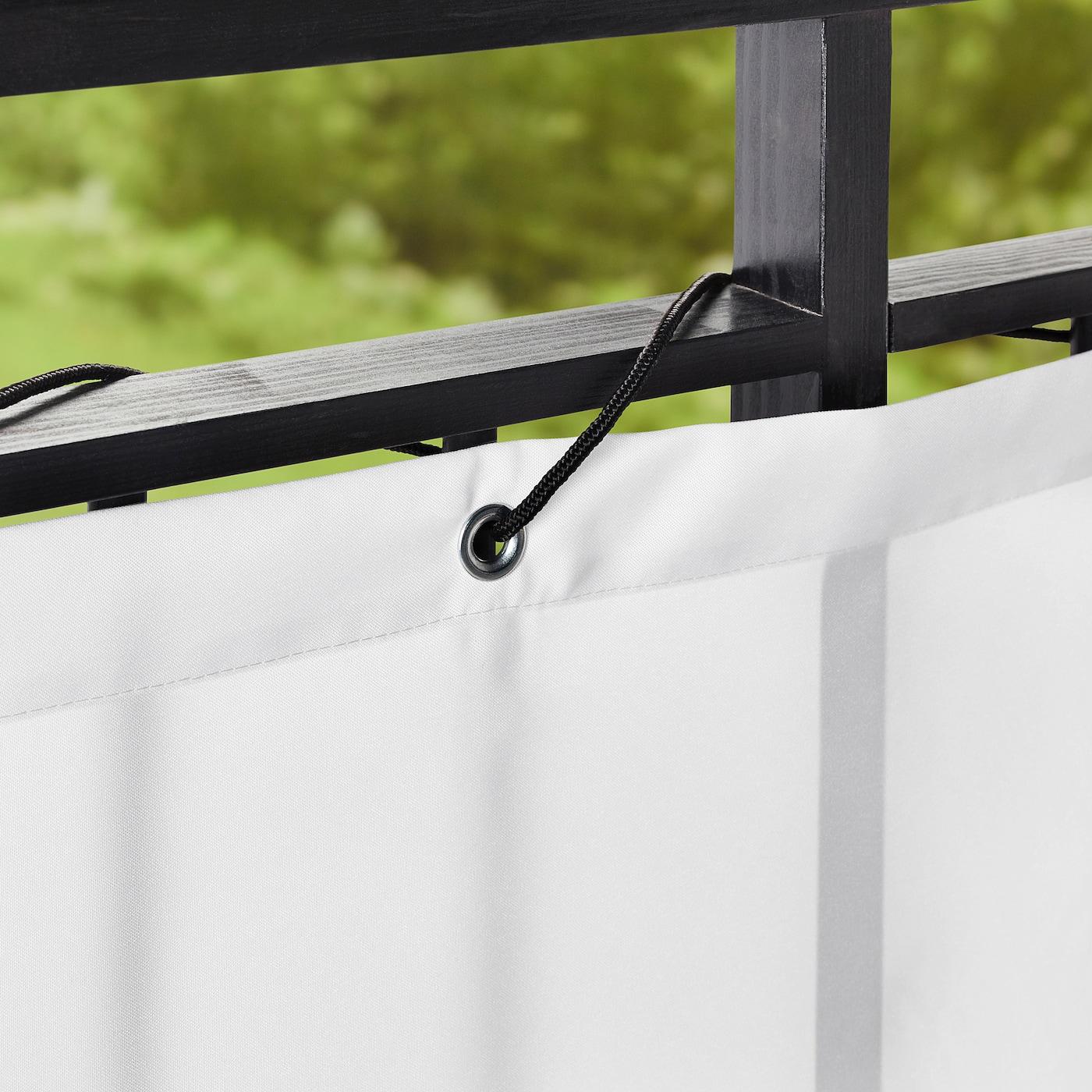dyning brise vue pour balcon blanc 250x80 cm
