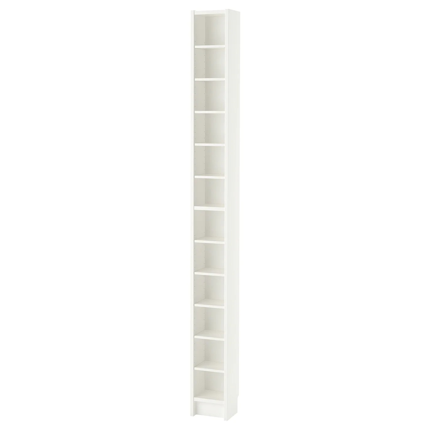gnedby bibliotheque blanc 202 cm