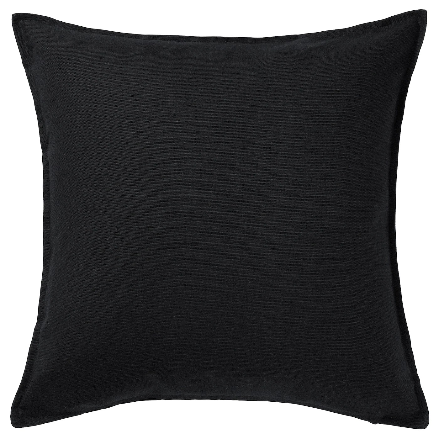 gurli housse de coussin noir 50x50 cm