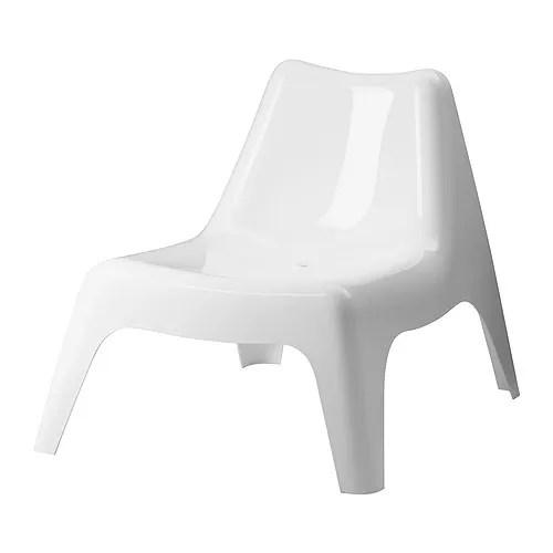 IKEA PS VÅGÖ Fauteuil, extérieur - blanc - IKEA