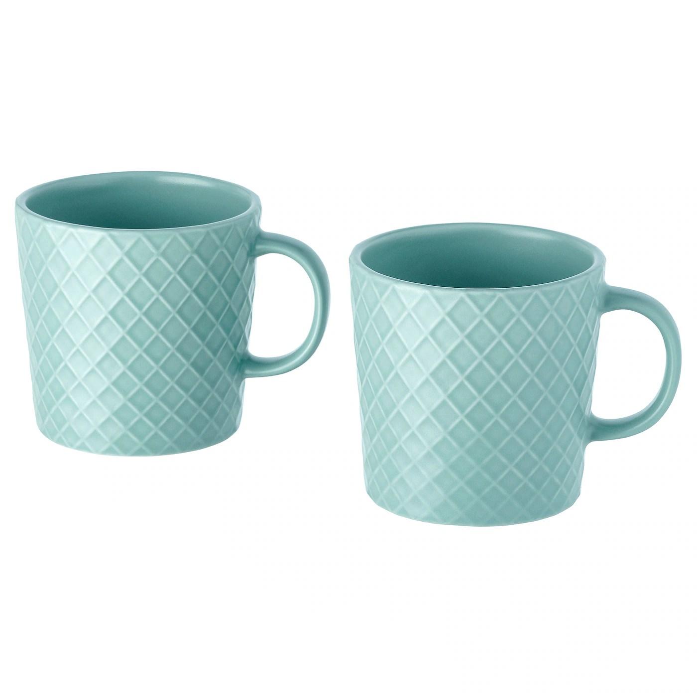 kejserlig mug turquoise 30 cl