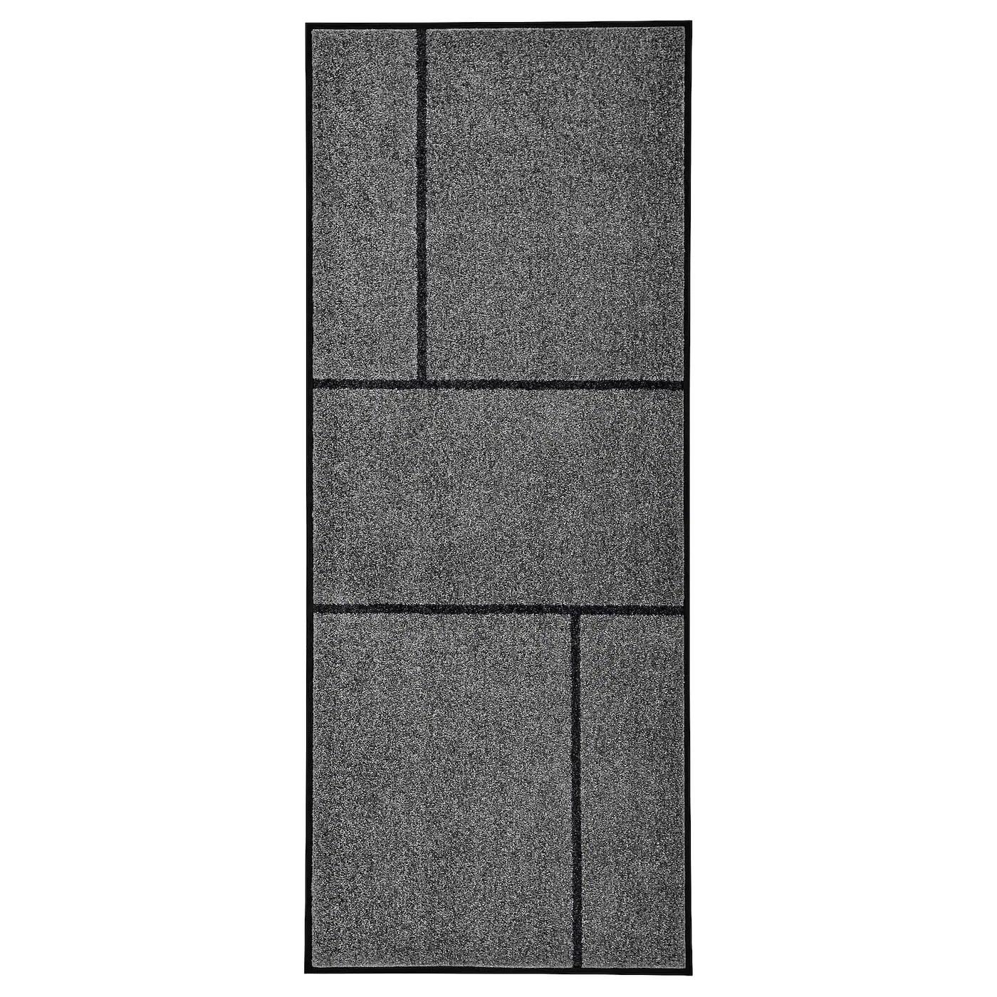 koge paillasson gris noir 82x200 cm