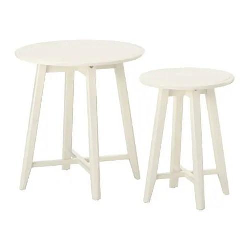 KRAGSTA Tables gigognes, lot de 2 IKEA