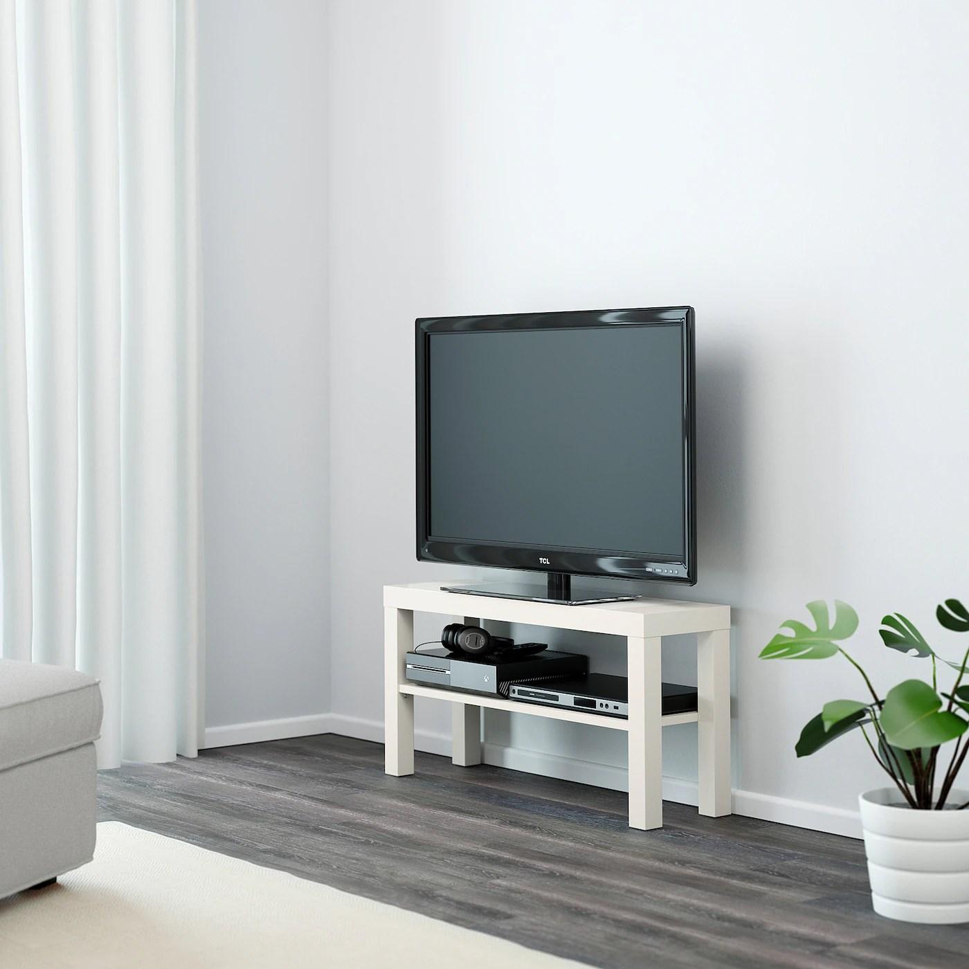 lack banc tv blanc 90x26x45 cm