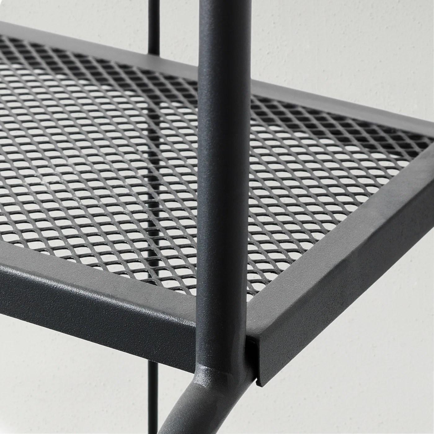 lacko etagere exterieur gris 61x160 cm