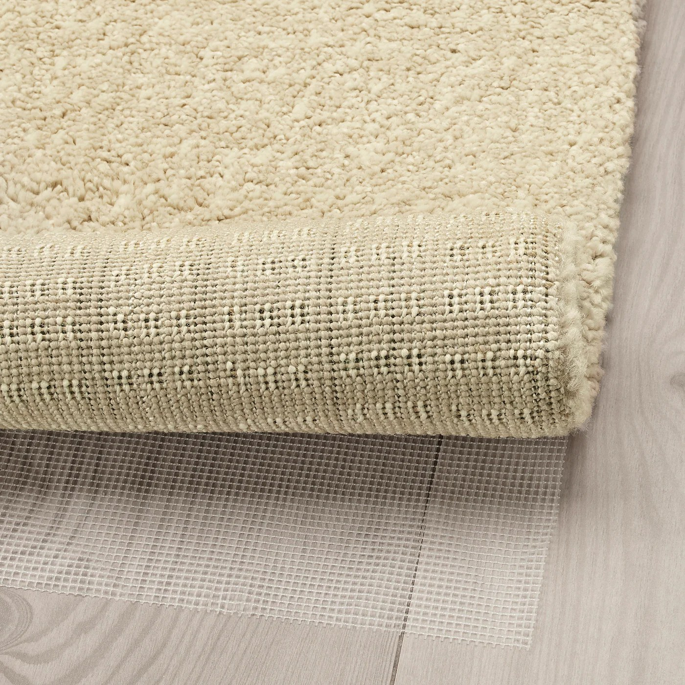 langsted tapis poils ras beige 170x240 cm