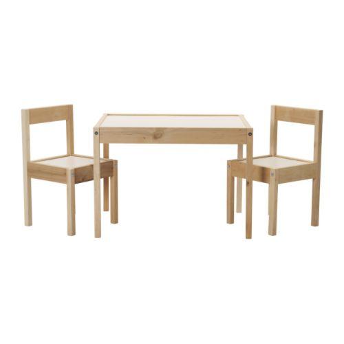LÄTT Table et 2 chaises enfant IKEA