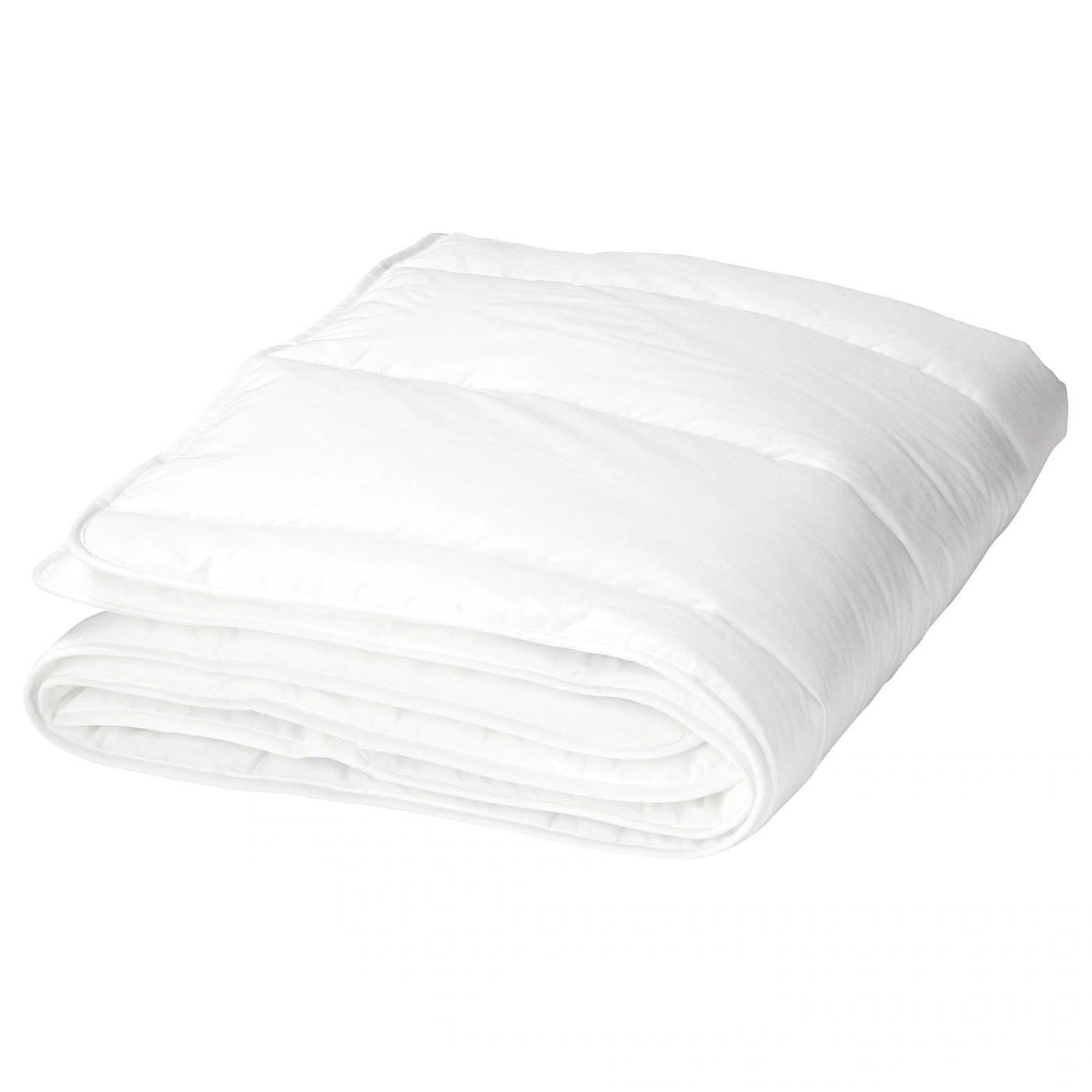 len couette pour lit bebe blanc 110x125 cm