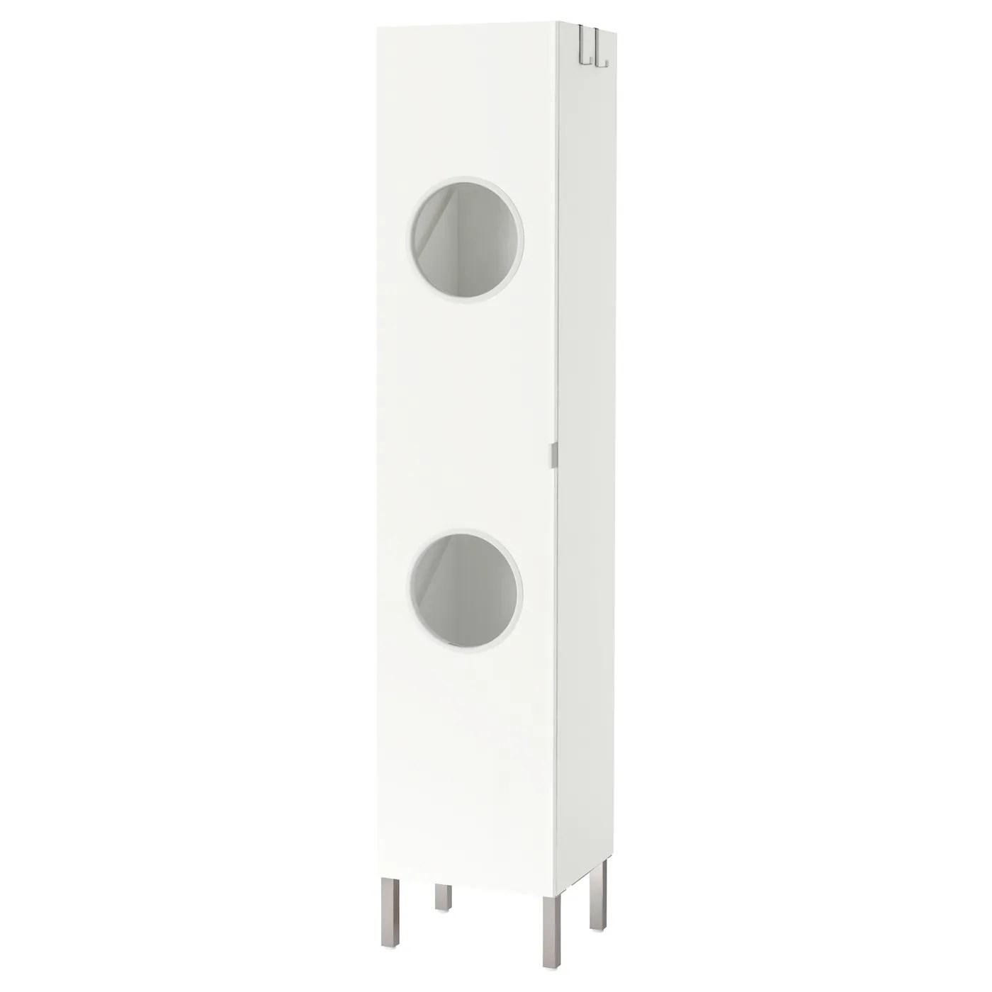 lillangen colonne blanc 40x38x194 cm