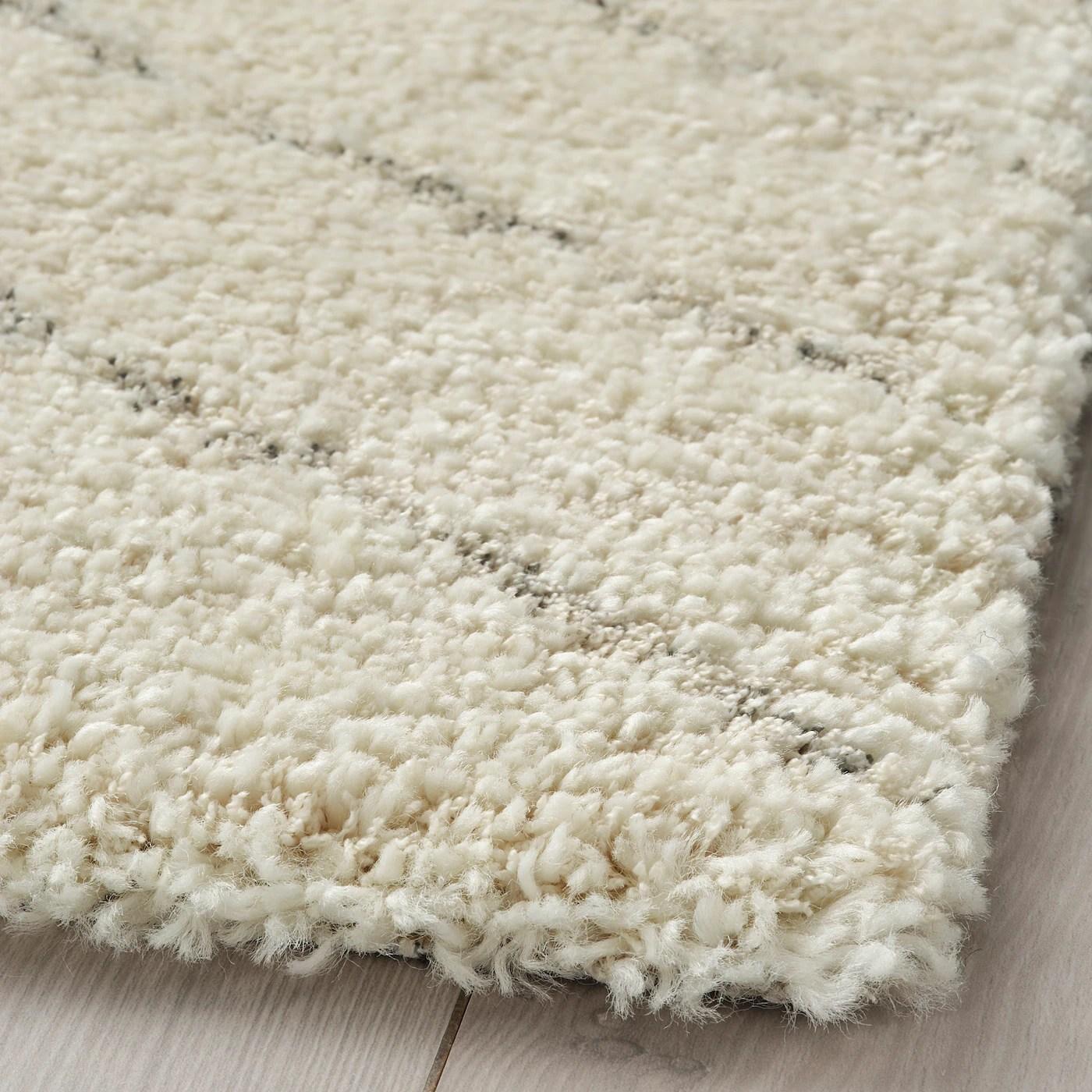 marstrup tapis poils ras beige 160x230 cm