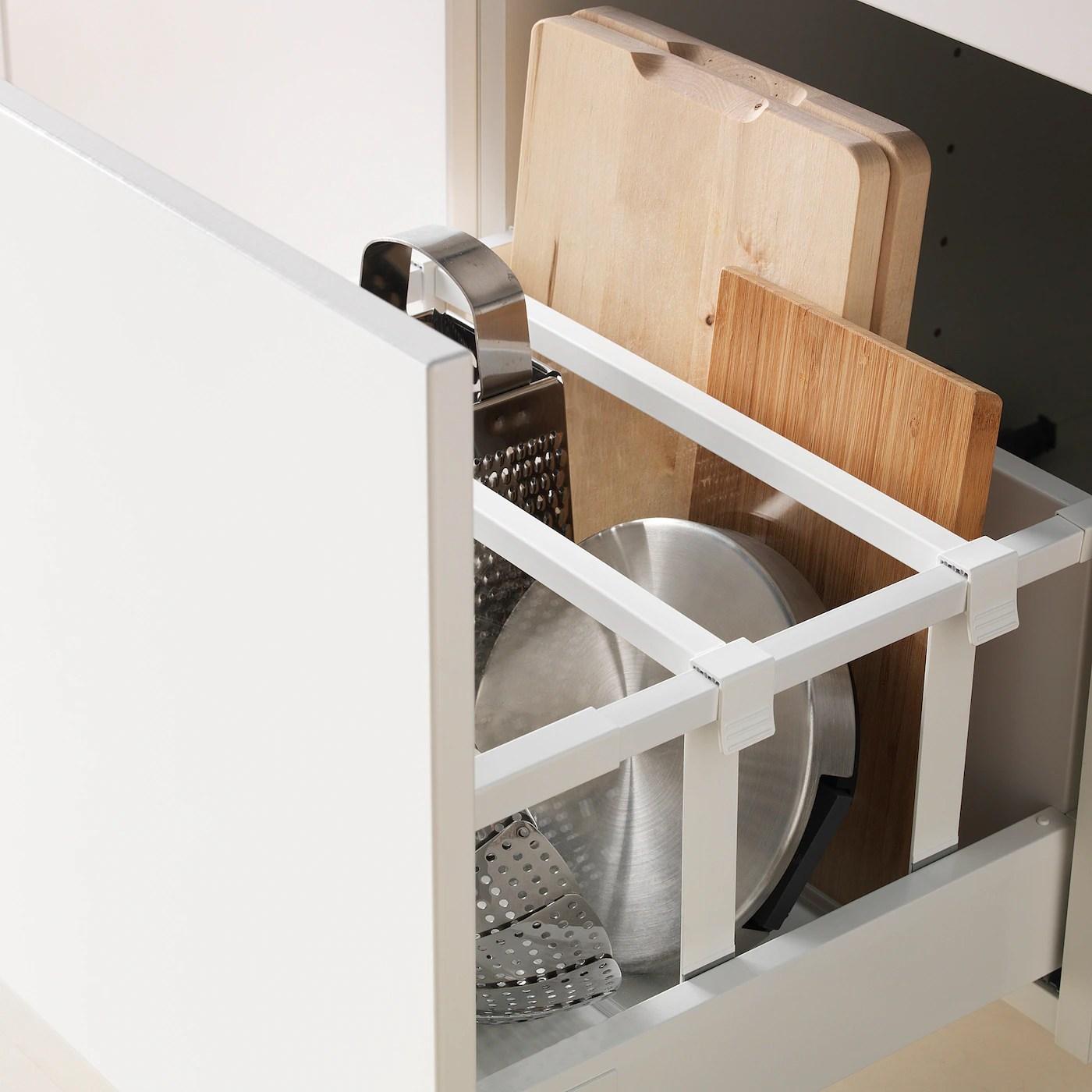 maximera tiroir haut blanc 40x37 cm