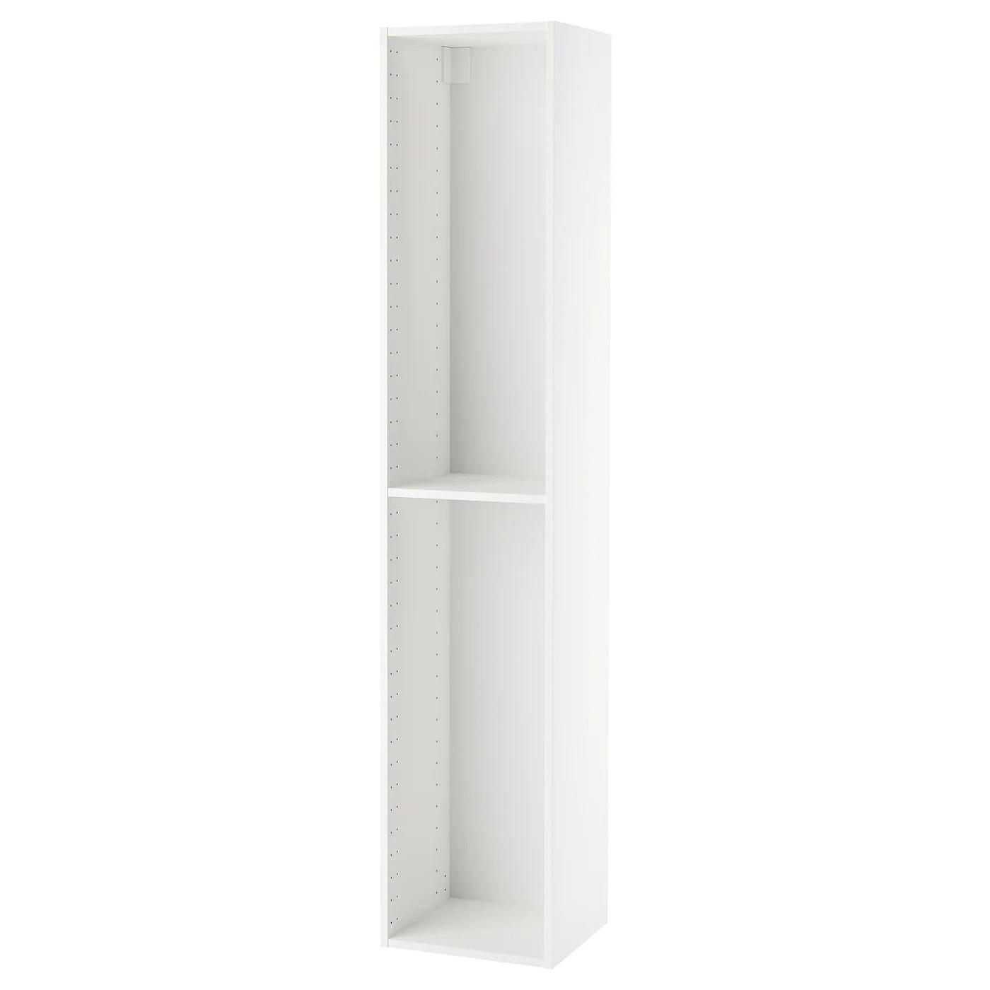 metod structure element armoire blanc 40x37x200 cm