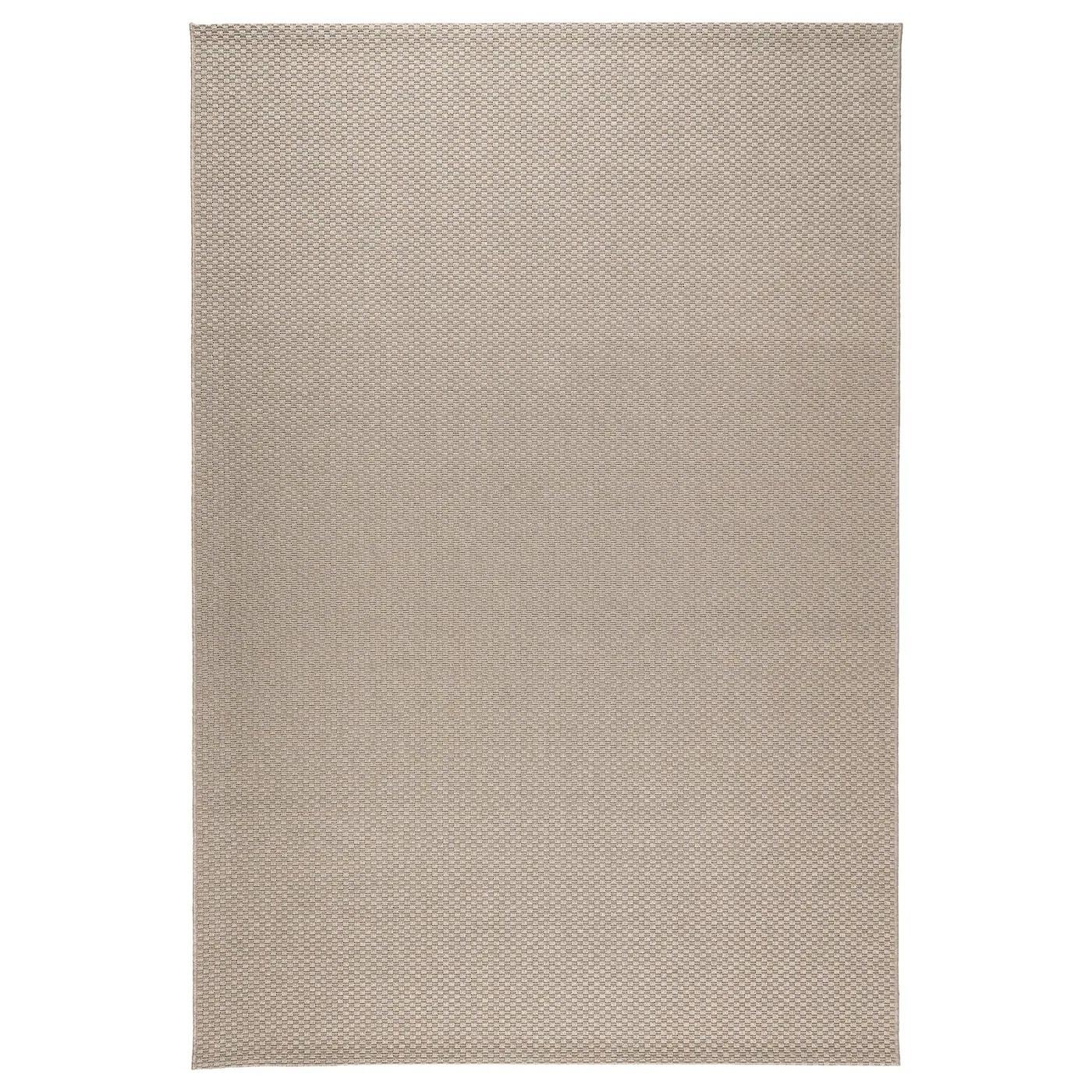 morum tapis tisse a plat int exterieur beige 160x230 cm