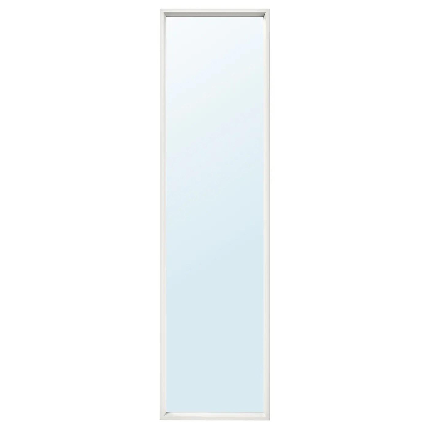 Nissedal Miroir Blanc 40x150 Cm Ikea