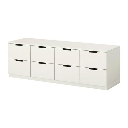 NORDLI Commode 8 Tiroirs IKEA