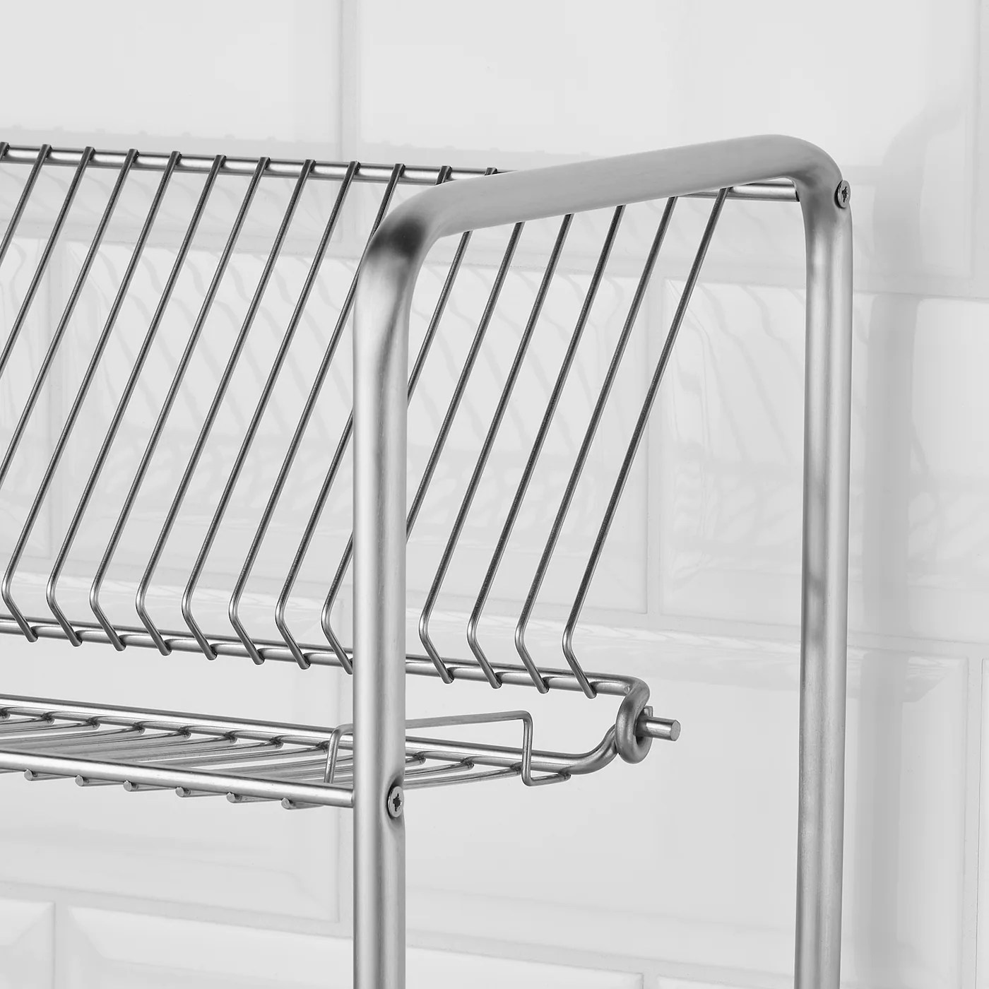 ordning egouttoir a vaisselle acier inoxydable 50x27x36 cm