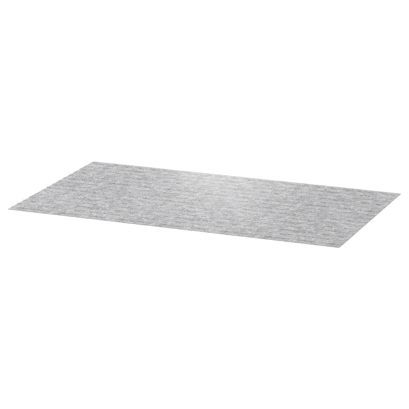 passarp tapis de tiroir gris 50x96 cm