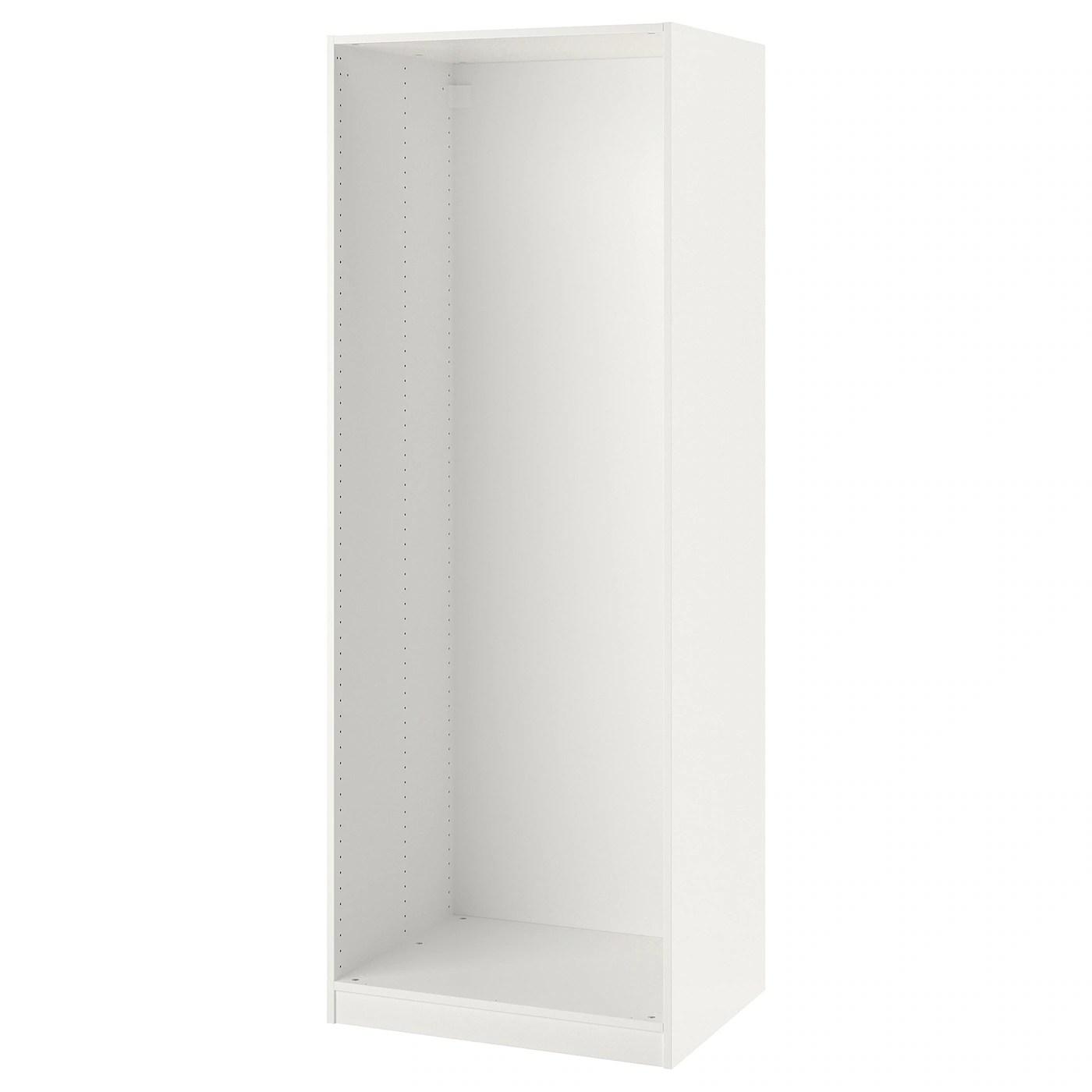 pax caisson d armoire blanc 75x58x201 cm