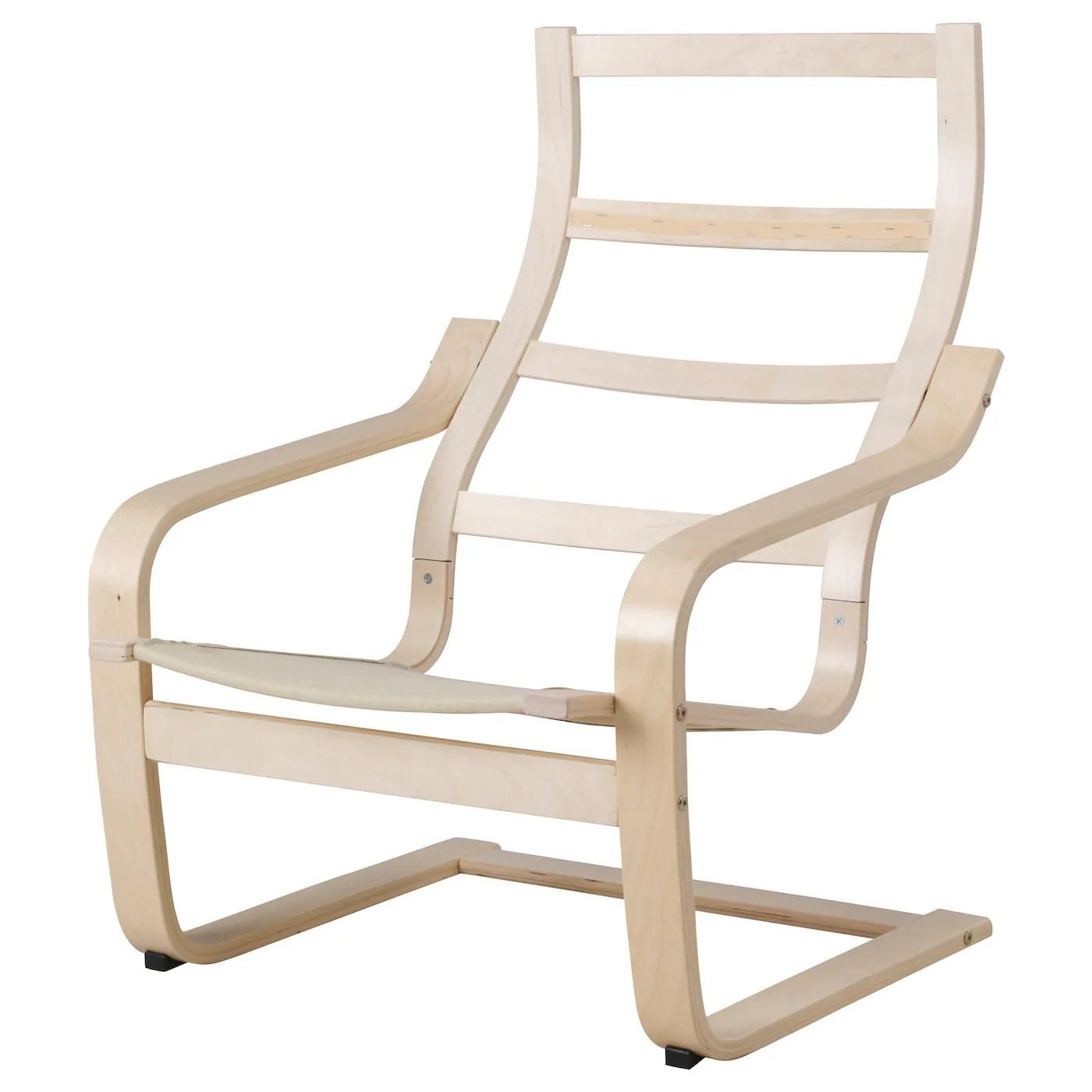 poang structure fauteuil plaque bouleau