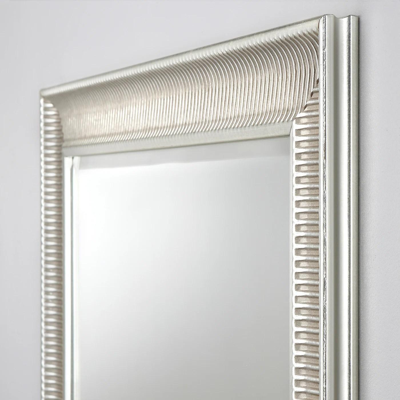 Songe Miroir Couleur Argent 91x130 Cm Ikea