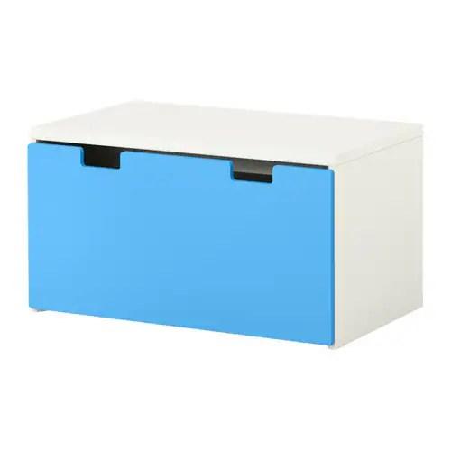 STUVA Banc avec rangement  blancbleu  IKEA