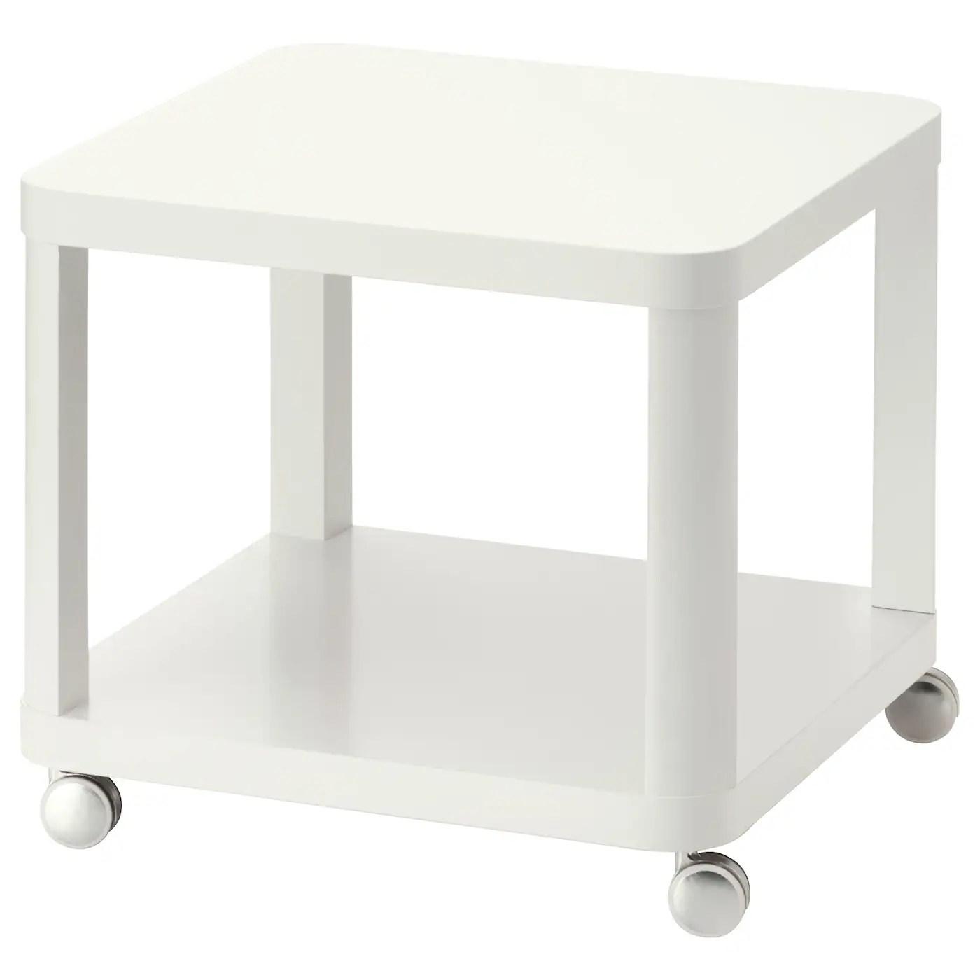 tingby desserte roulante blanc 50x50 cm