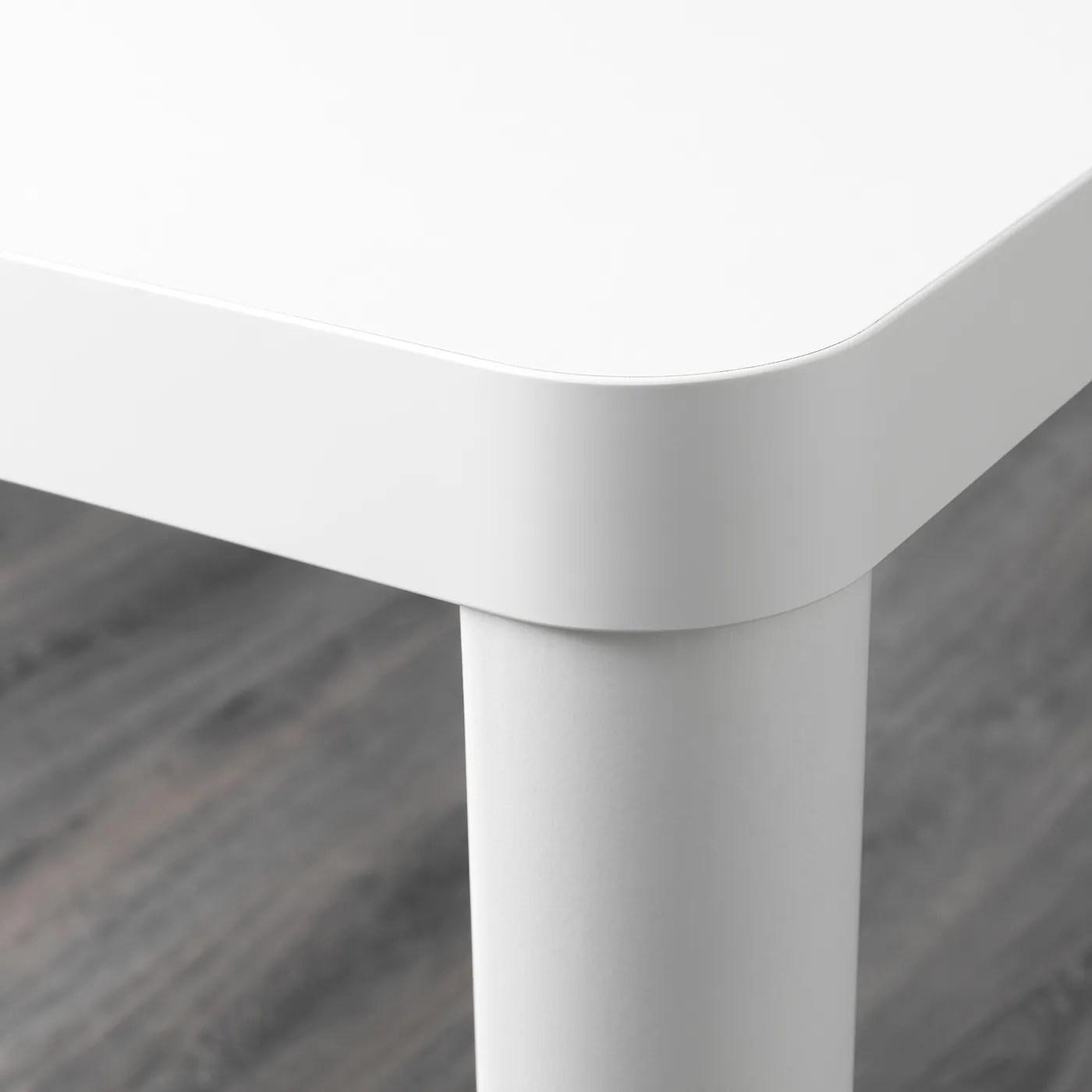 tingby leifarne table et 6 chaises blanc blanc 180 cm