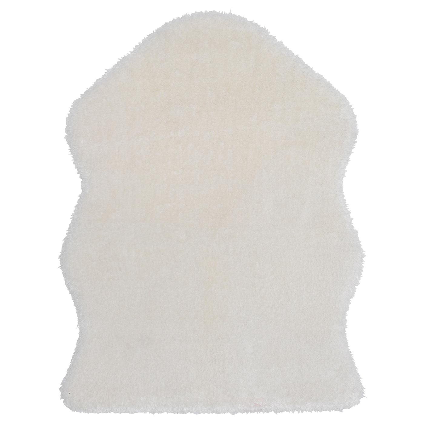 toftlund tapis blanc 90x150 cm